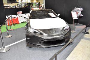 TRDがカーボン仕様トヨタ86「14R-60進化版」を発表【東京オートサロン2017】