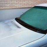 【画像】フロントガラスが割れる!寒い日のデフロスター使用は要注意!!