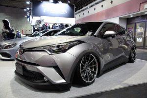 【大阪オートメッセ2017】車高を極限まで下げる足まわりパーツ