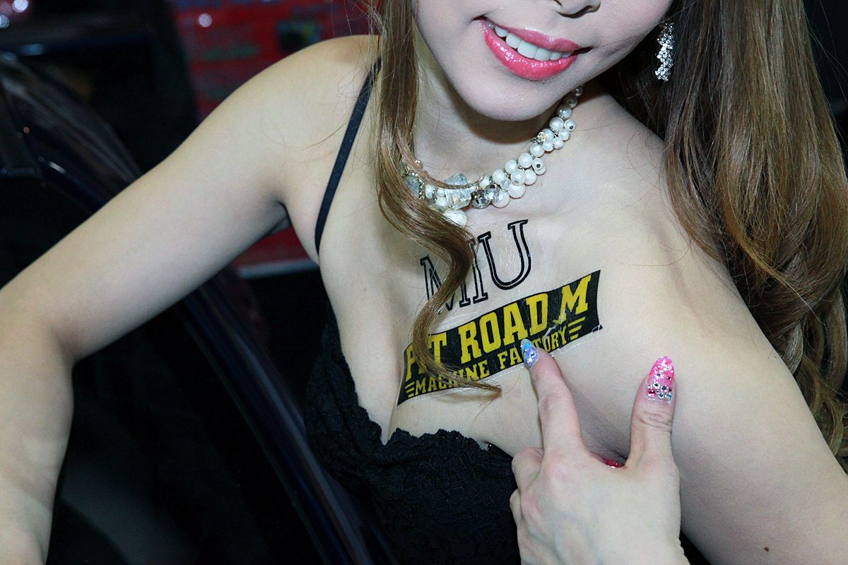 【大阪オートメッセ2017】キャンギャルお願い「セクシーポーズ」20選