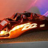【画像】【大阪オートメッセ2017】塗装でメッキの輝き! 「D2」ブレーキキャリパーに新色