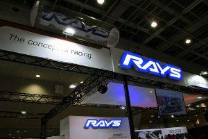 【大阪オートメッセ2017】RAYSが稀少な左右非対称デザインホイールをリリース