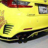 【画像】ピカピカの「S13シルビア」超低車高でドリフト!【オートトレンド2017】