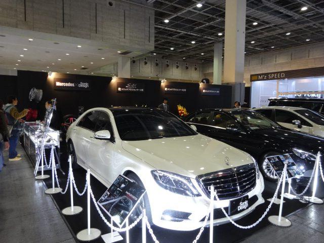 22インチAMG&スマートブラバス・テーラーメード専用モデルを特別展示 【大阪オートメッセ2017】