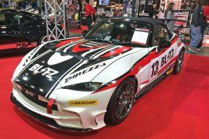 【大阪オートメッセ2017】スーパーカー並みに速い「BLITZ」チューンドNDロードスター
