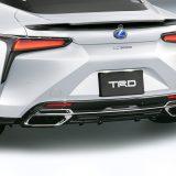 【画像】TRDが新型クーペ「レクサスLC」用エアロキットをリリース