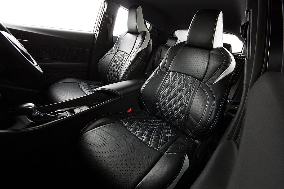 トヨタC-HR用シートカバーが「グレイス」よりデビュー
