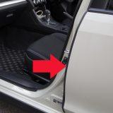 【画像】【DIY】風切り音を軽減するモール装着で車格感アップ!