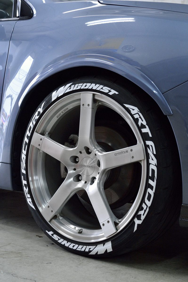 タイヤ ステッカー ホワイトレター