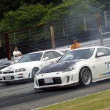 【画像】ゼロヨン&サーキット走行イベントにスポーツカー100台が集結!