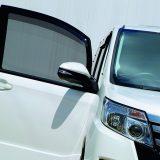 【画像】暑さ対策にぜひ!! 新感覚の車種専用サンシェード