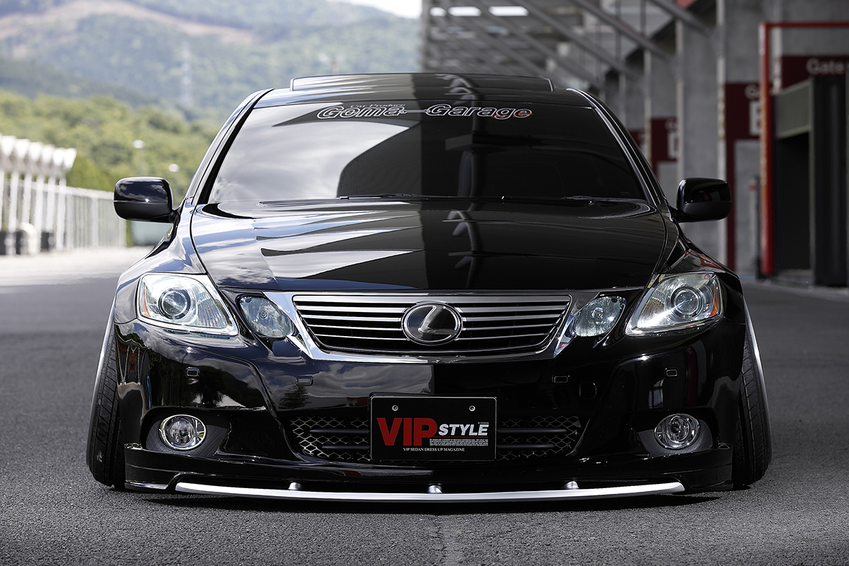 VIPスタイル カバーカー 表紙 レクサスGS
