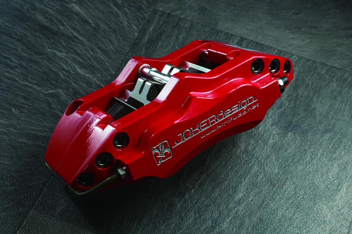6ポットディスクブレーキ、ジョーカーデザイン、ハイエース