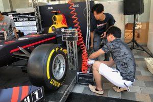 タイヤ交換最速は誰の手に!?「Red Bull Pit Stop Challenge」開催!