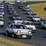 9月10日、トヨタ「AE86」が岡山国際サーキットを埋めつくす!