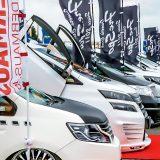 【画像】300台におよぶ圧巻のユーザーカー展示【スーパーカーニバル2017・見どころ情報2】