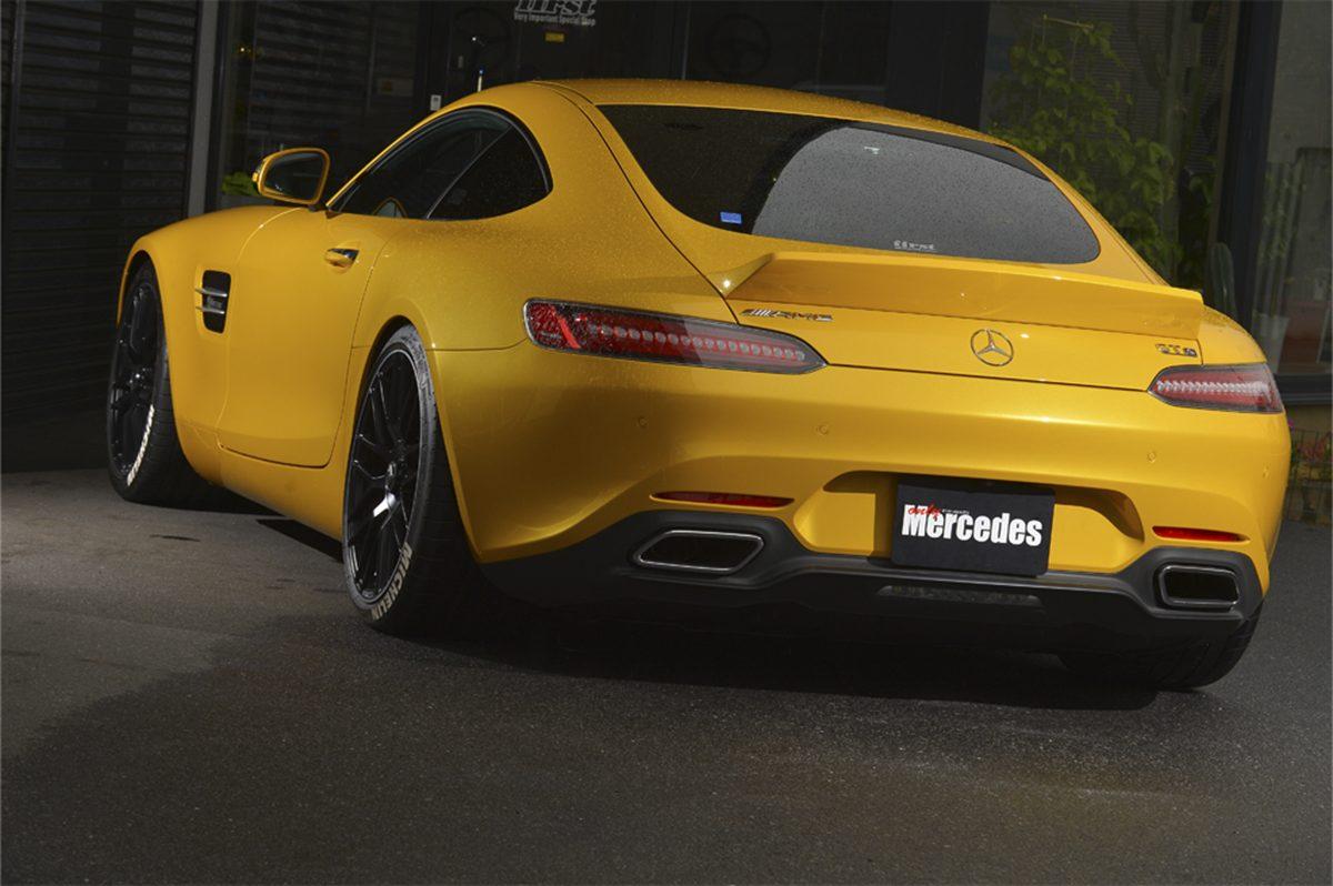 AMG GT、メルセデスベンツ、リアウイング、ダックテール、ファースト