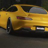 【画像】曲線的ボディライン『AMG GT』にフィットするスポーツダックテール