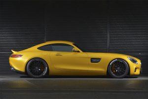 曲線的ボディライン『AMG GT』にフィットするスポーツダックテール