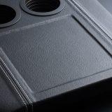 【画像】【ハイエース・便利シリーズ】センターコンソールボックスの蓋とアームレストが一体に!!