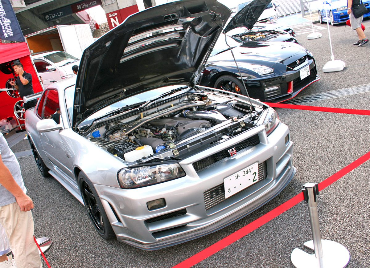 GT-R エンジン 画像 R'smeeting