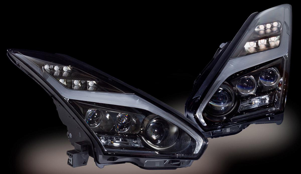 R35GT-R ヘッドライト ヴァレンティ LED