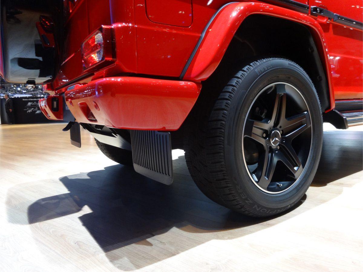 東京モーターショー メルセデス ベンツ G350 デジーノ