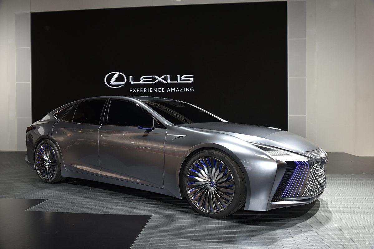 【東京モーターショー速報】新型レクサスLSと未来のあるべき姿を公開