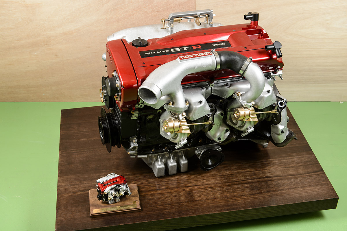 日下エンジニアリング GLION エンジンスケールモデル