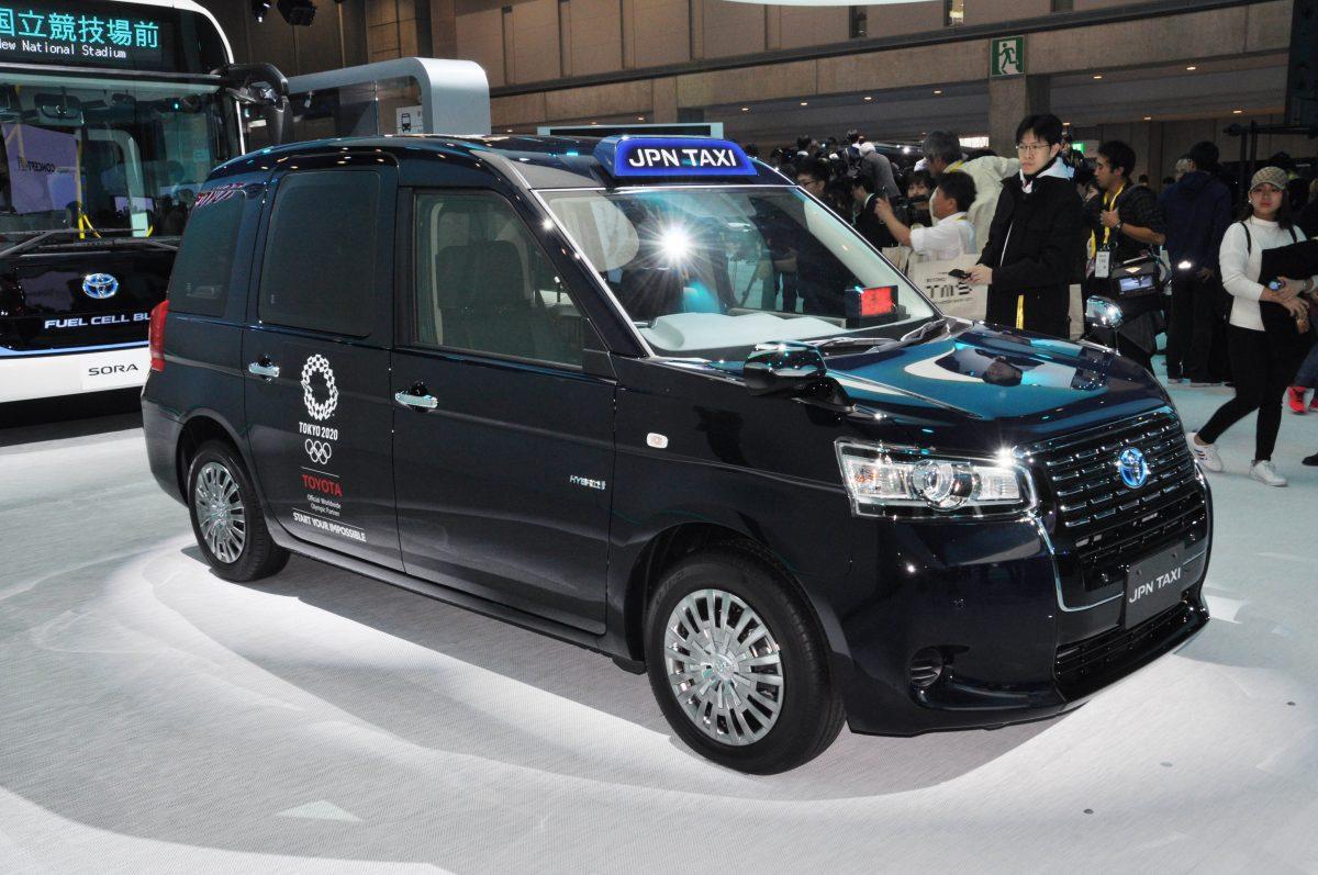 【東京モーターショー速報】未来のTAXI「ジャパンタクシー」はカスタムベースでもあり!?