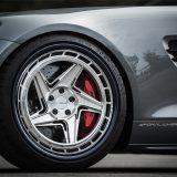 【画像】超極太リムを大胆に飲み込む、「AMG GT」への上級者的メイク