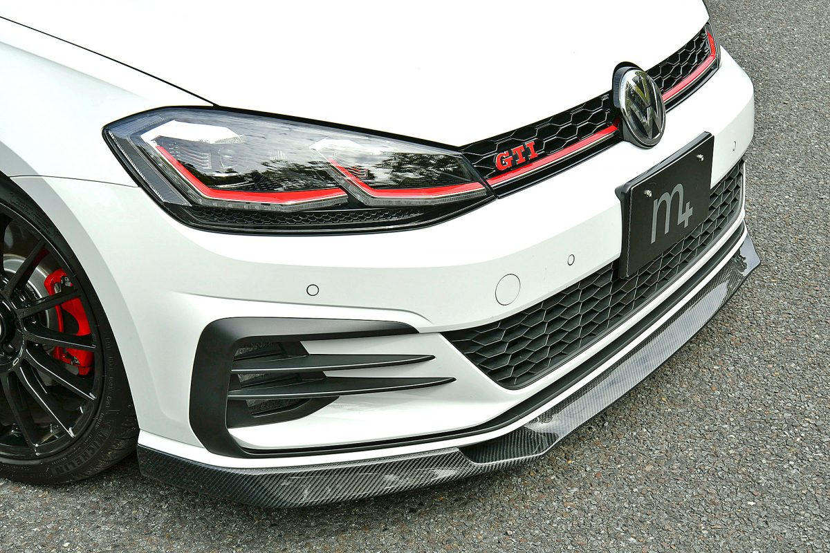 VWゴルフ 7.5 GTI キザス m+ エアロ