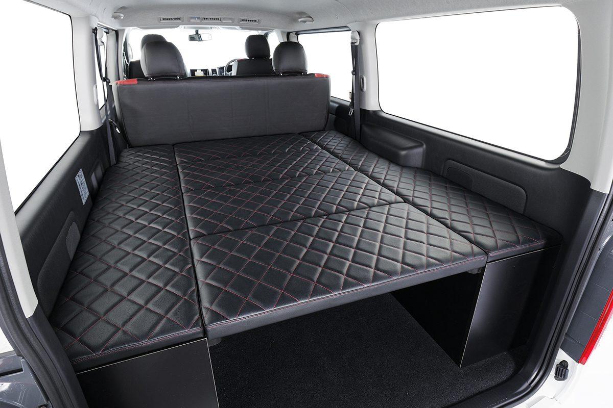 ハーツ、V2ベッドキット、ベッドマット収納式