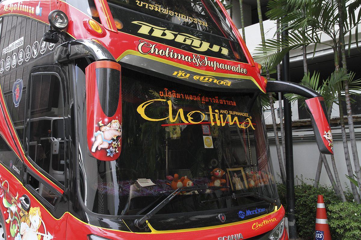 タイ視察ツアー、トラッカー、タイ、デコトラ