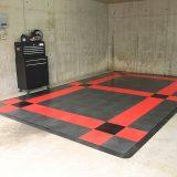 【画像】ガレージに敷くだけでオシャレ空間を創造する「フロアタイル」