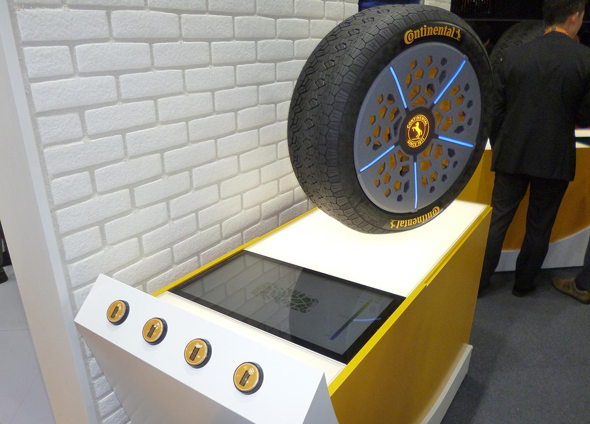 コンチネンタルタイヤ コンチアダプト 東京モーターショー