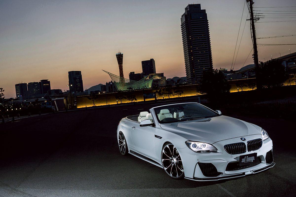 BMW6シリーズの肢体をさらに色っぽくメイクアップする【WALD】