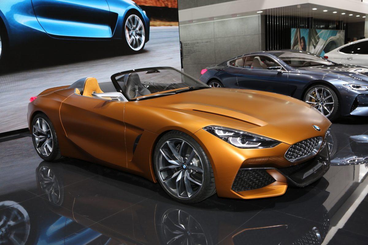 BMW、コンセプト8、コンセプトZ4