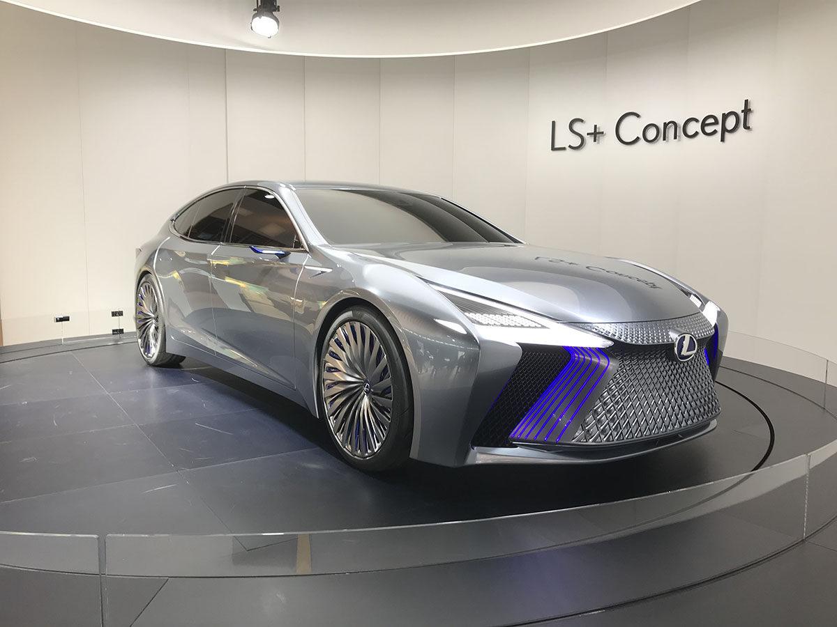 LEXUS LE+CONCEPT、未来的LSコンセプト