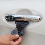 【画像】【DIY】ドア開閉時の引っかきキズからボディを守る「ドアノブポッティングシール」