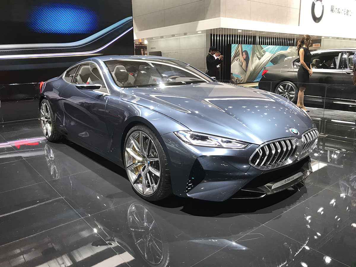 BMW 8Series Concept、Y字スポーク