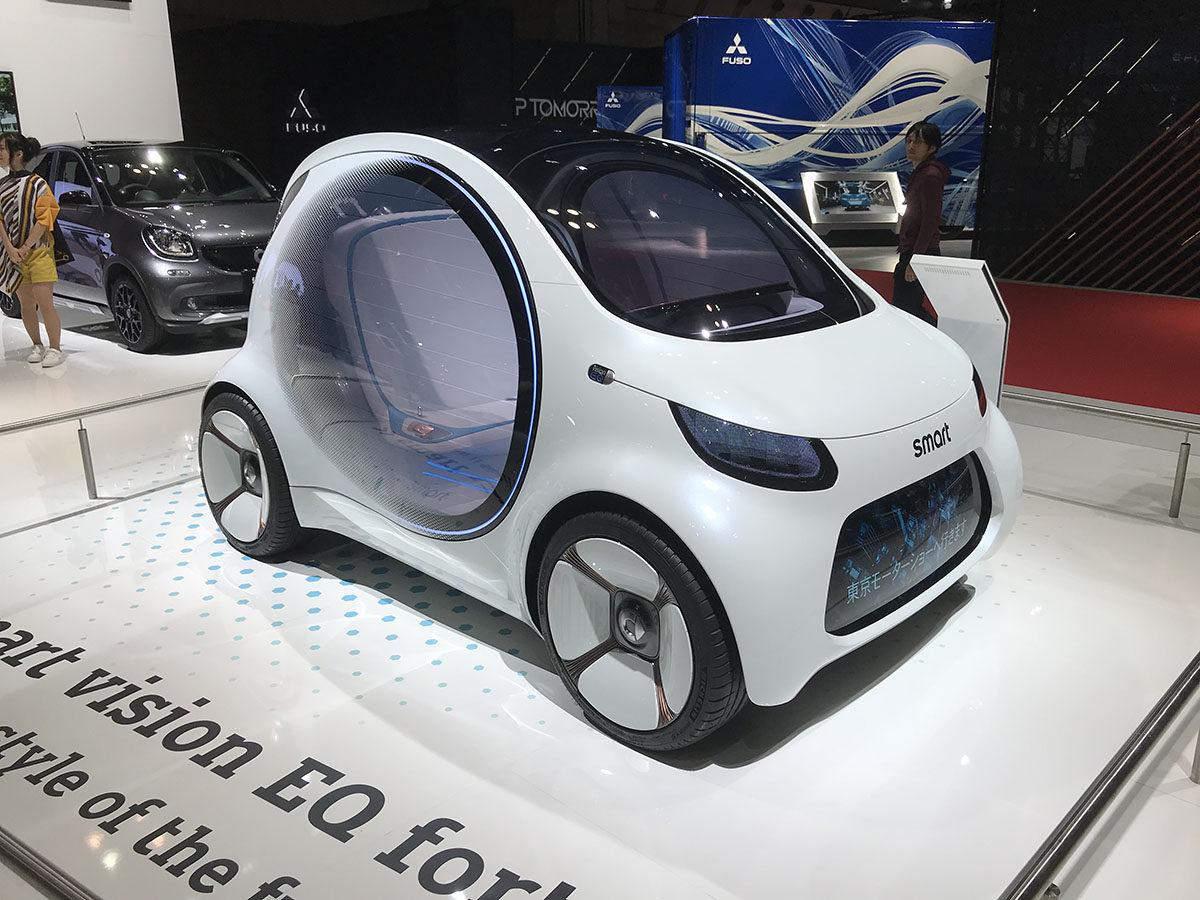 Smart Vision EQ Fortwo、EVコミューター、スマート