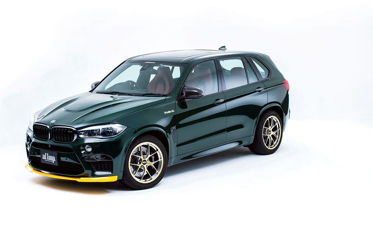 BMW専門ショップ「Studie」が作り上げるSUVカスタムの世界
