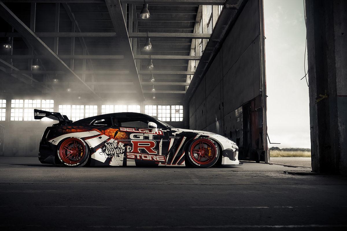 R35 GT-R WIDE BODY オーバーフェンダー LB WORKS PANDEM