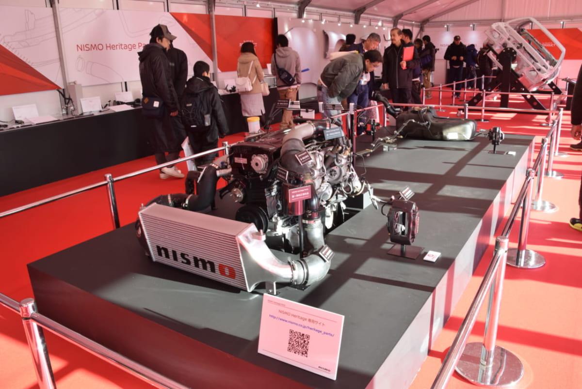 ニスモフェスティバル NISMO ニスモヘリテージ GT-R 純正部品 R32