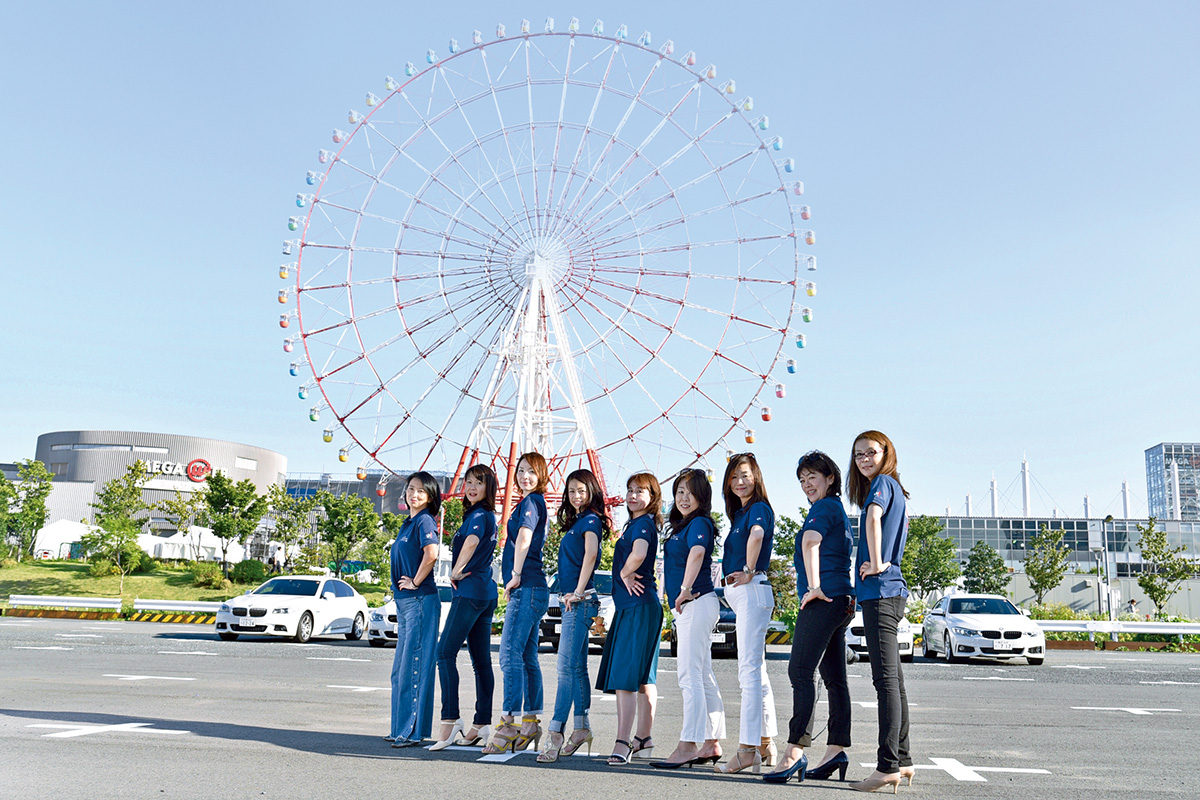 女子力ハンパなしのミーティング!!「BMW WOMENの集い」in お台場へ潜入