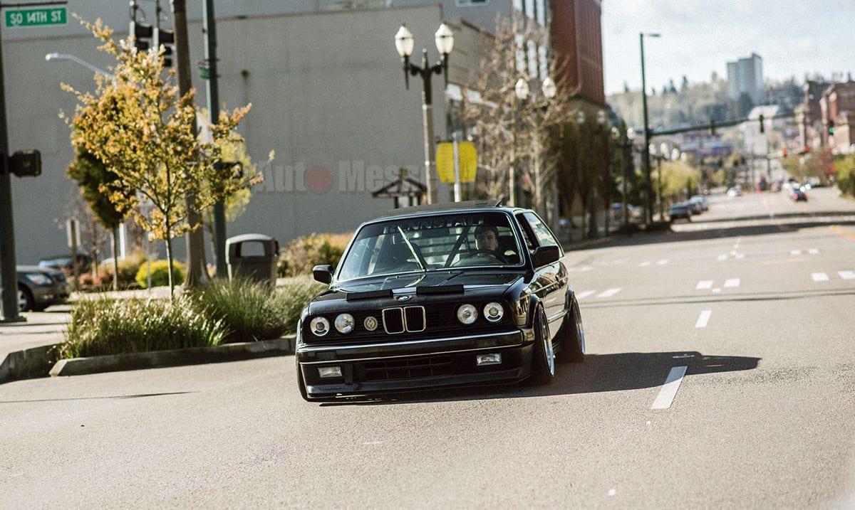 ネオクラ、BMW、E30、オールドスクール