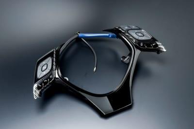 C-HR 内装 グラージオ カーボン インパネ ステアリング