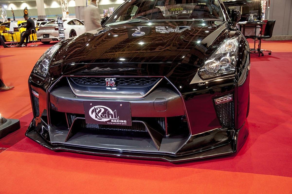 """""""最新""""なR35 GT-Rのコンプリートカーが衝撃価格で【大阪モーターショー】"""