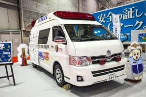患者を確実かつ安全に輸送する「高規格救急車」【働くクルマ】